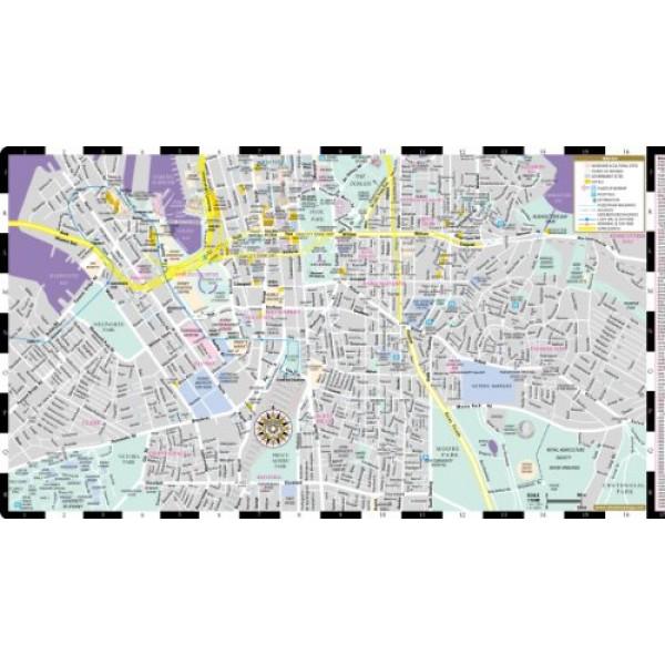 streetwise sydney map laminated city center street map of sydney australia