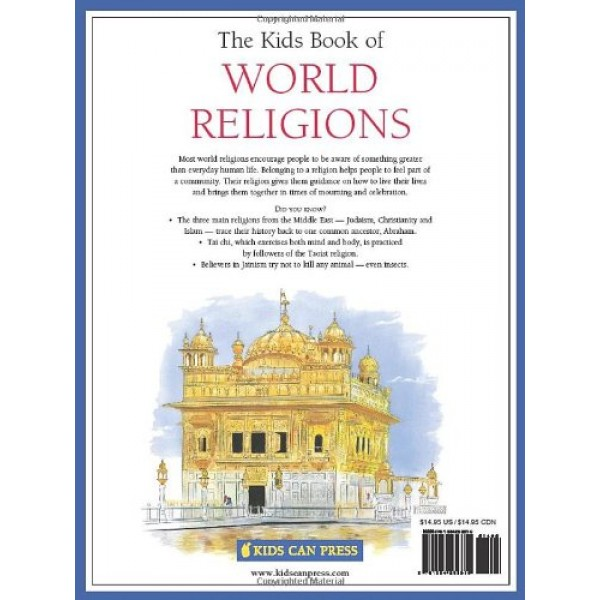Kids Book Of World Religions - World religions for kids