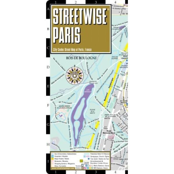 Paris Map Laminated City Center Street Map of Paris France – Streetmap France