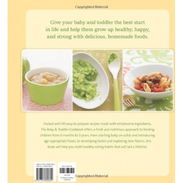 The baby and toddler cookbook fresh homemade foods for a healthy start forumfinder Gallery